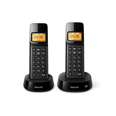D1452B/22  Draadloze telefoon met antwoordapparaat