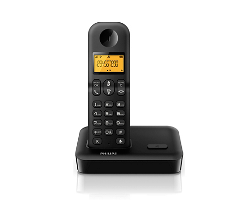 Cordless phone d1502b/05 | philips.