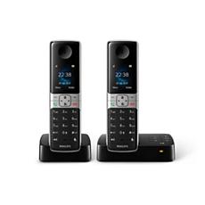 D6352B/38  Schnurlostelefon mit Anrufbeantworter