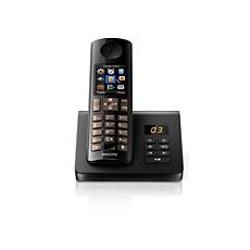 D7051B/51 -    Беспроводной телефон с автоответчиком
