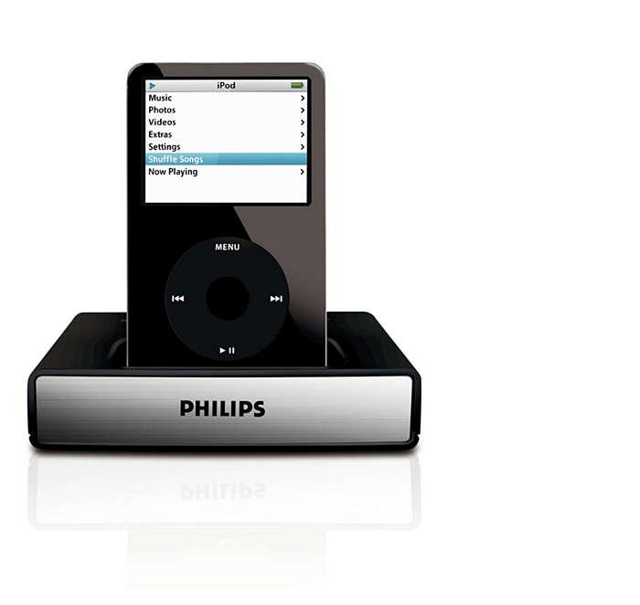 Geef uw iPod-muziek de ruimte