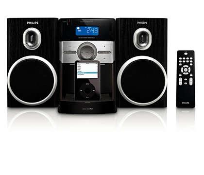 Disfruta de la música de tu iPod con sonido Hi-Fi