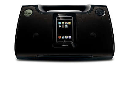 Ciesz się głośną muzyką z iPoda i MP3 w każdej sytuacji