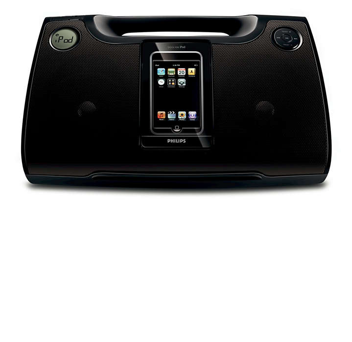 Vychutnajte si nahlas hudbu z iPod a MP3 kdekoľvek