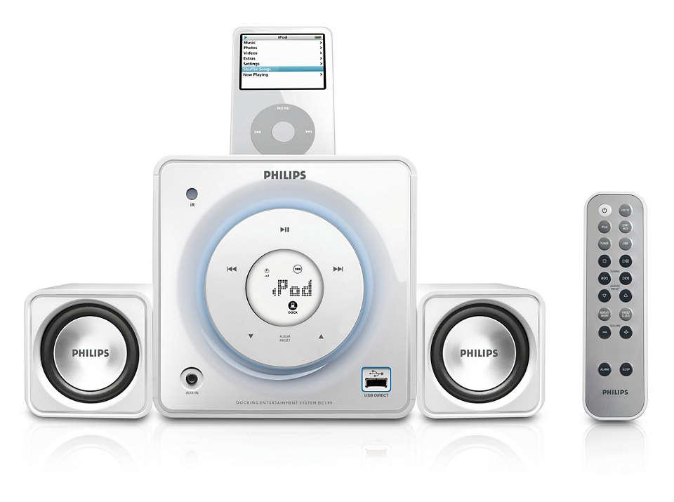 Connectez votre musique numérique et écoutez-la à plein volume