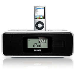Clock radio for iPod