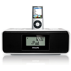 DC200/12 -    Klokradio voor iPod