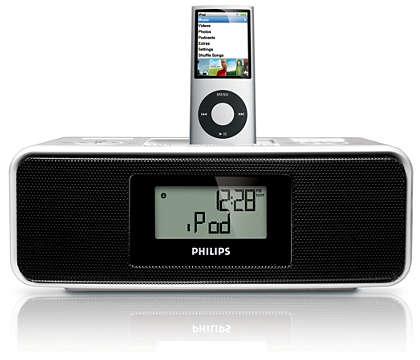 Word wakker met iPod-muziek