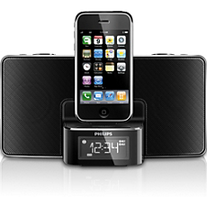 DC220/12 -    Alarm Clock radio for iPod/iPhone