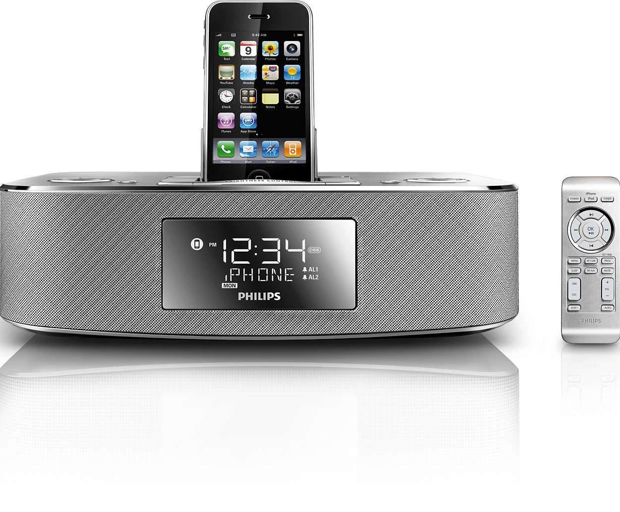 Iphone  Dockingstation Musik