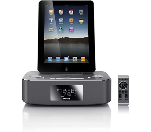docking station for ipod iphone ipad dc291 37 philips. Black Bedroom Furniture Sets. Home Design Ideas