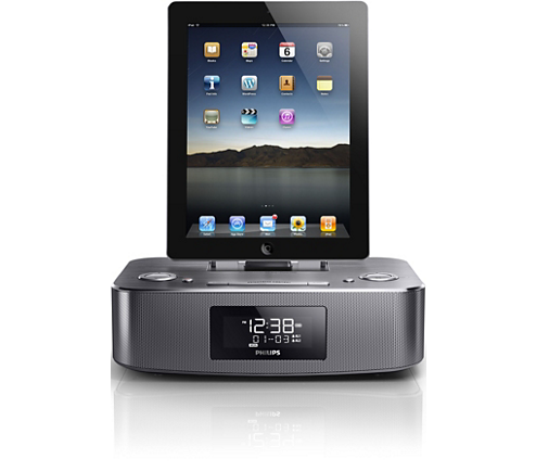 docking station voor ipod iphone dc295 12 philips. Black Bedroom Furniture Sets. Home Design Ideas