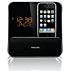 Ébresztőórás rádió iPod/iPhone-hoz