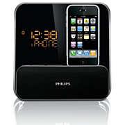 Radio Jam Alarm untuk iPod/iPhone