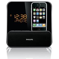 DC315/12  Klokradio met alarm, voor iPod/iPhone