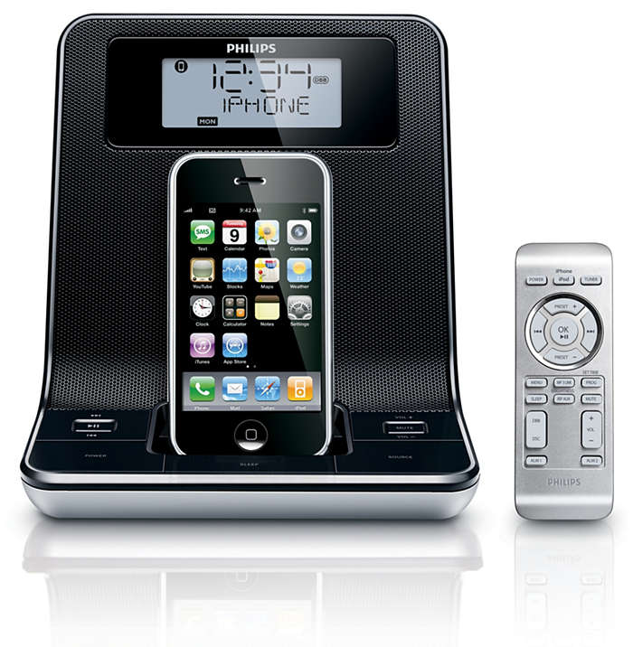 Wake up to your iPhone/iPod music