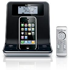 DC320/98 -    Clock radio for iPod/ iPhone