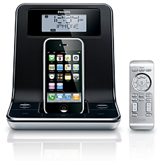 DC320/98  Clock radio for iPod/ iPhone