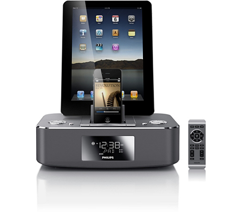 docking station for iPod/iPhone/iPad DC390/37 | Philips
