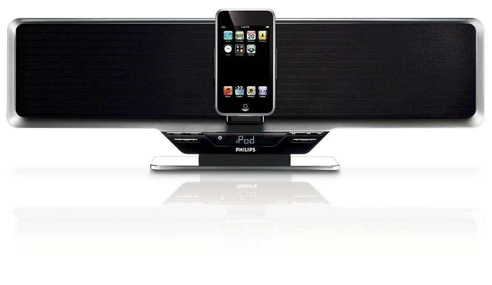 Nautige muusikat iPodist valjult ja suurepärase heliga