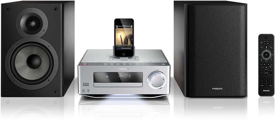 Enjoy high fidelity music and movies