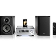 DCD7010/12 -    Sistema Hi-Fi com componente DVD