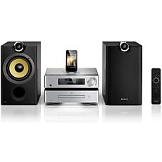 DCD8000/12  Sistema Hi-Fi con componentes DVD