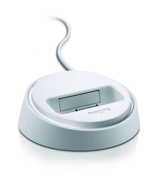 Spela iPod på ditt hemmabiosystem