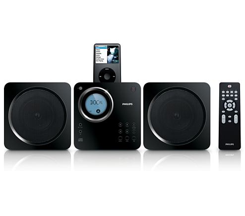 Cube Micro Sound System Dcm105 98 Philips