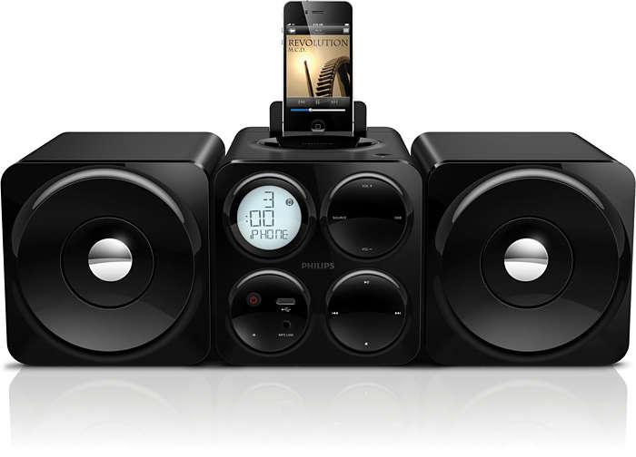 Cube Micro Soundsystem Dcm1070 12 Philips