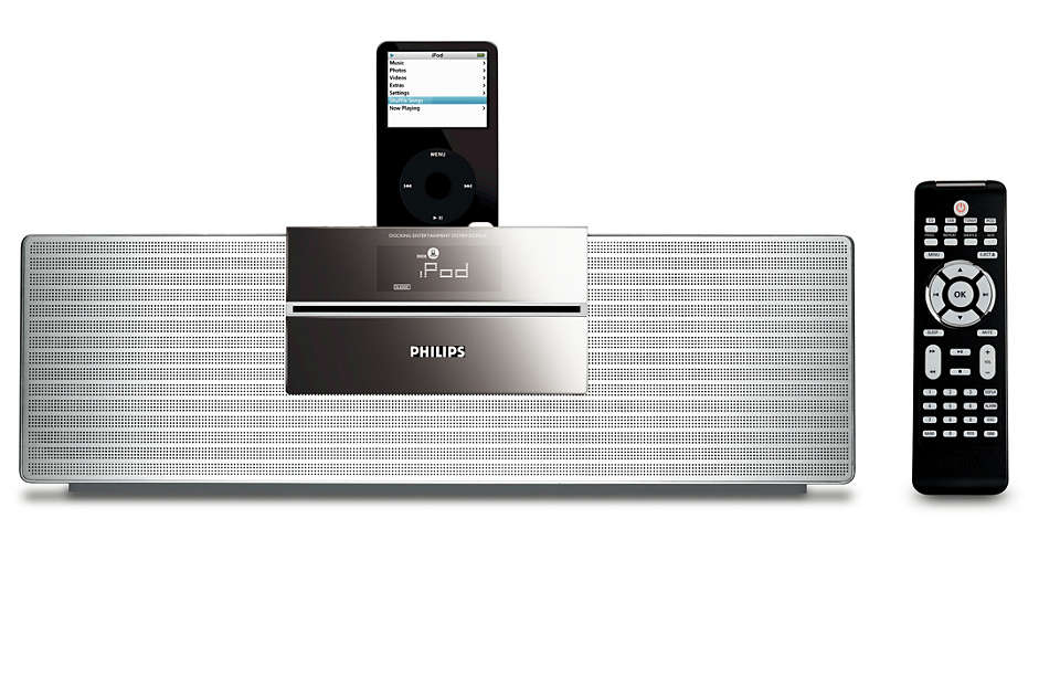 Enjoy iPod music in Hi-Fi sound quality