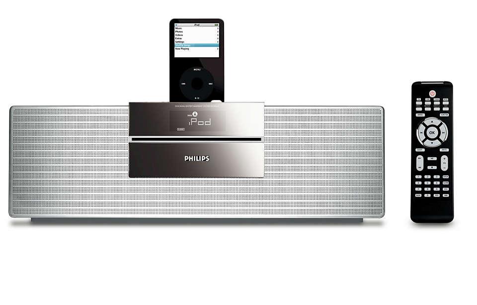 Słuchaj muzyki z odtwarzacza iPod w wysokiej jakości Hi-Fi