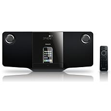 DCM278/12  Elegante sistema audio micro