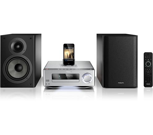 komponenten hifi anlage dcm7005 12 philips. Black Bedroom Furniture Sets. Home Design Ideas