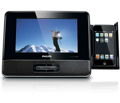 Enjoy your favorite iPod videos on a big screen
