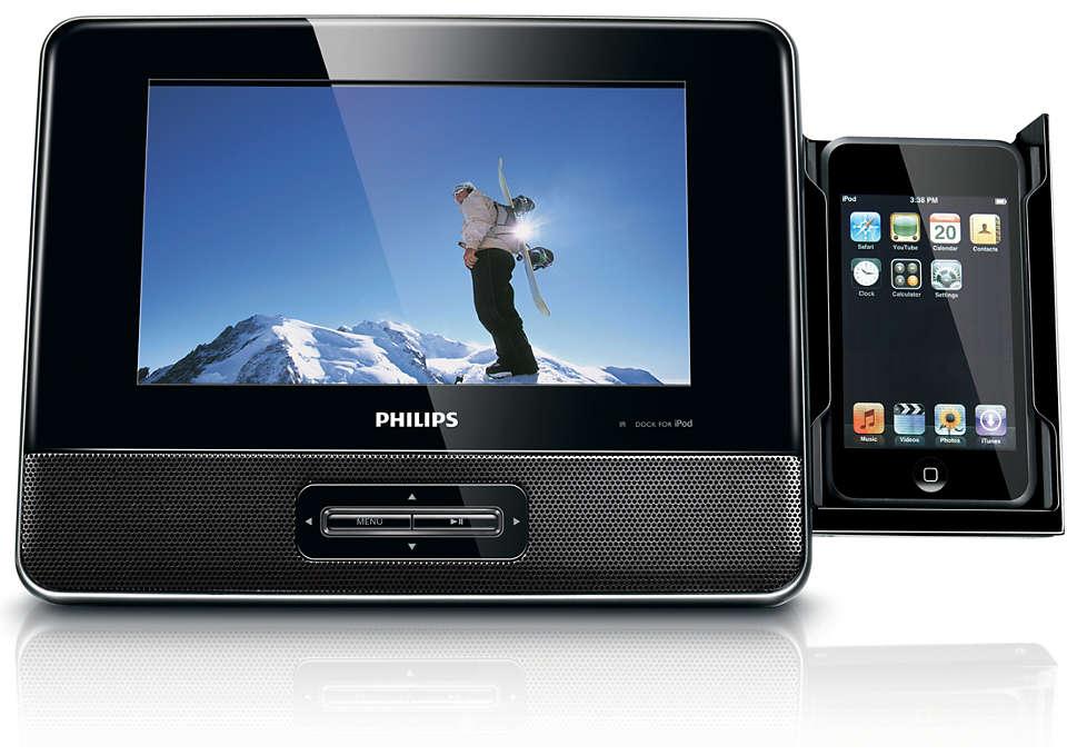 Profitez de vos vidéos iPod sur grand écran