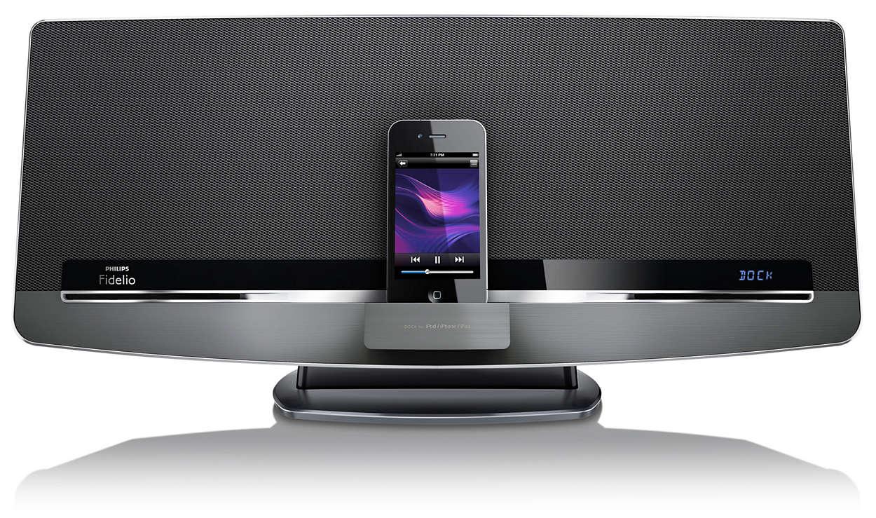 Geniet draadloos van muziek met AirPlay