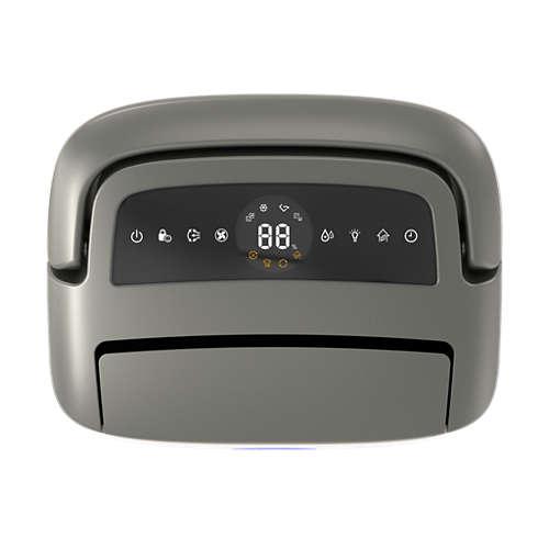 Series 5000 2-in-1 luchtontvochtiger