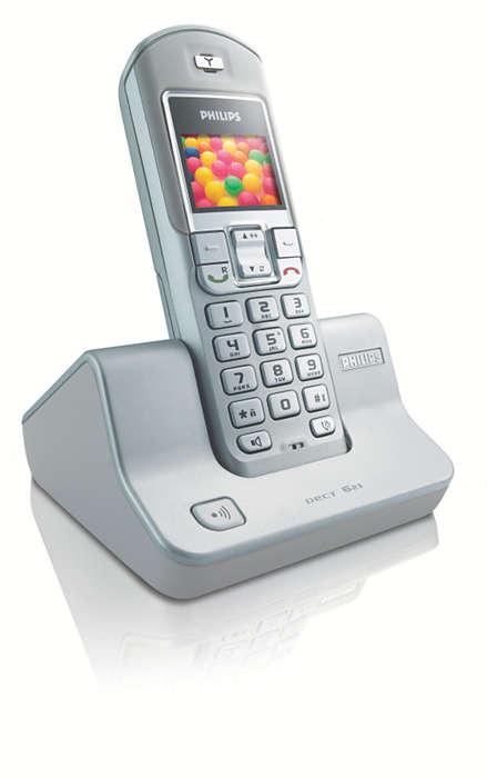 Telefonieren Sie in Farbe!