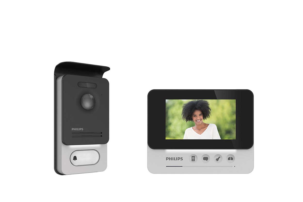 Interphone vidéo compact