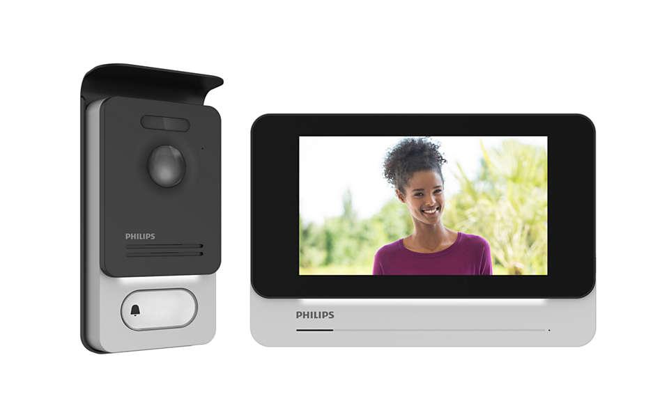 Interphone vidéo esthétique et intuitif