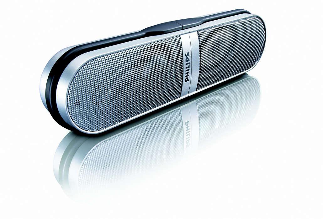 Le son de votre ordinateur portable n'a jamais été aussi bon.