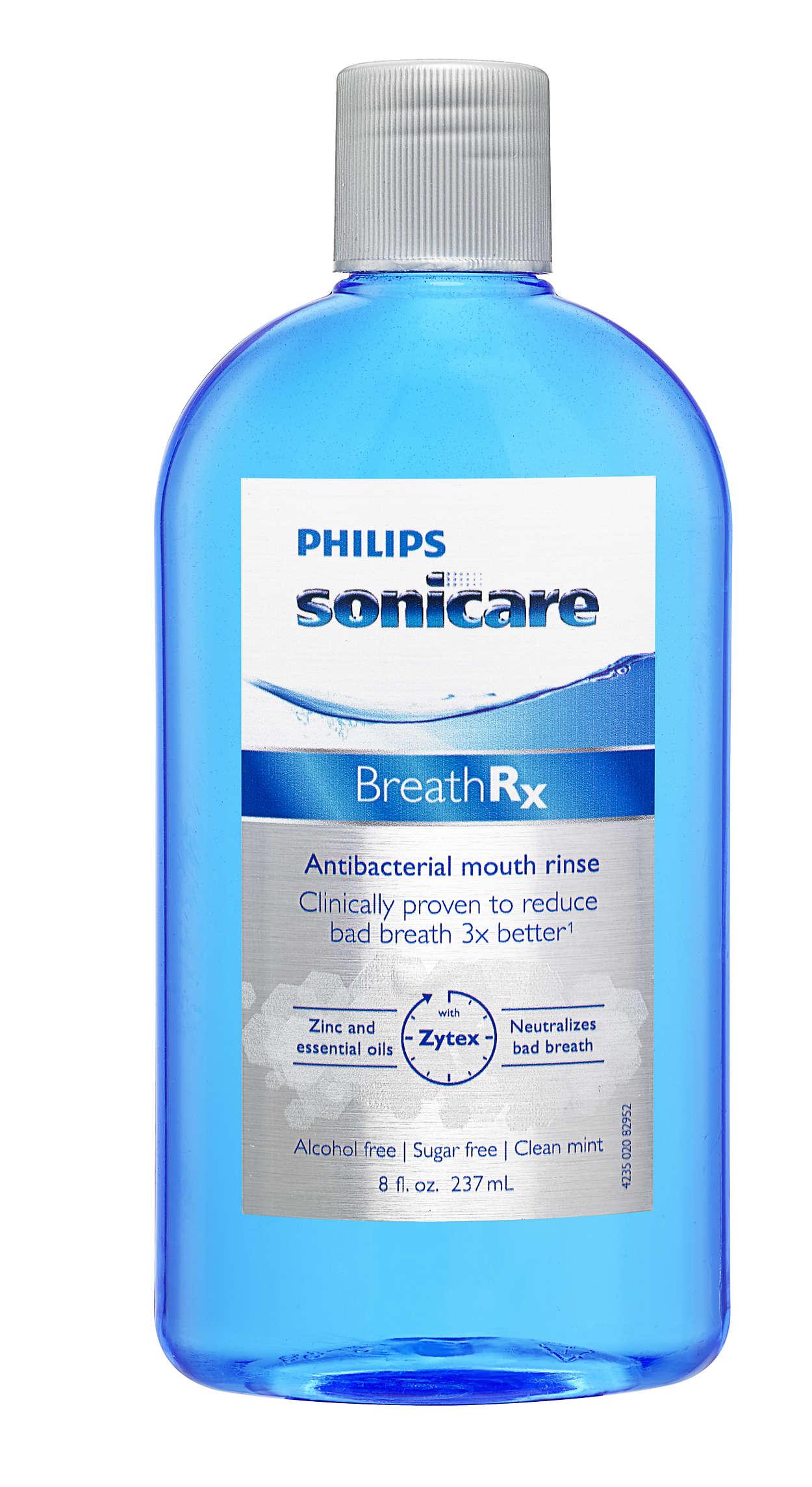Bekämpft Mundgeruch nachweislich bis zu 3Mal besser*