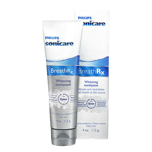 Sonicare BreathRx Whitening toothpaste
