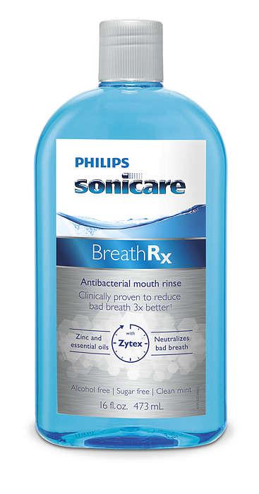 Potwierdzone klinicznie: 3-krotna poprawa świeżości oddechu*
