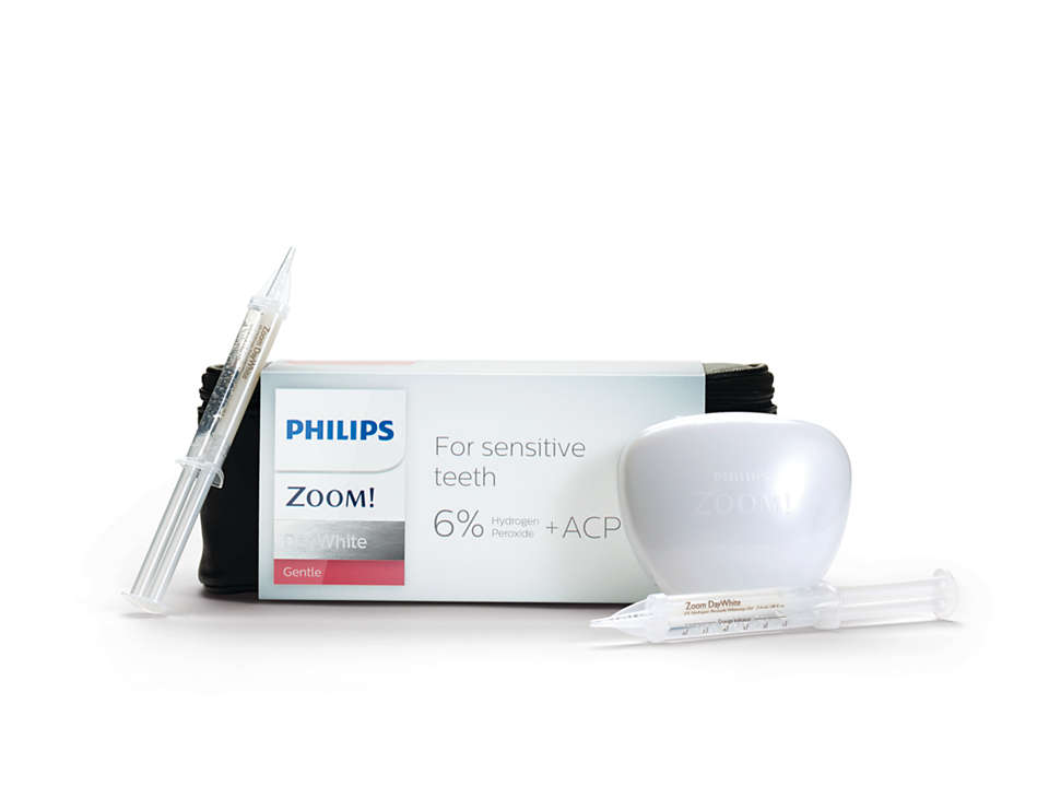 Sensitive teeth? Want a whiter smile? No problem