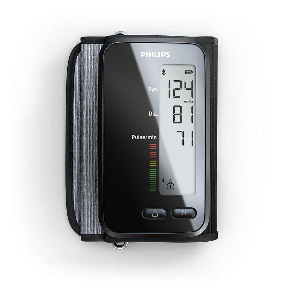 Blutdruckerfassung mit App-Anbindung