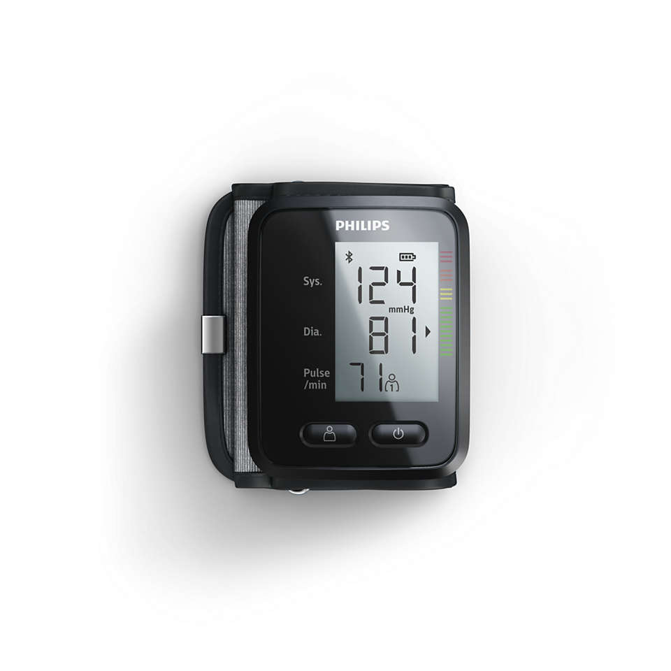 Connected blood pressure tracking