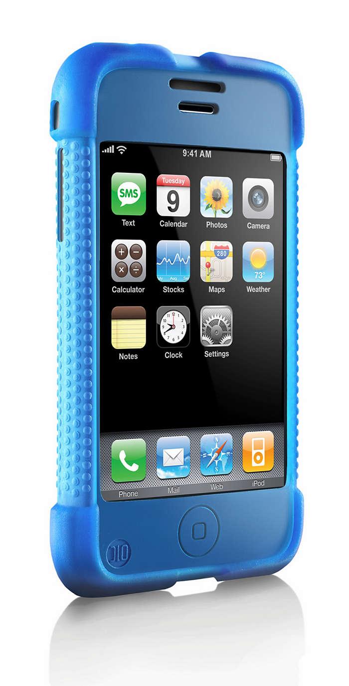 Stylowe zabezpieczenie telefonu iPhone