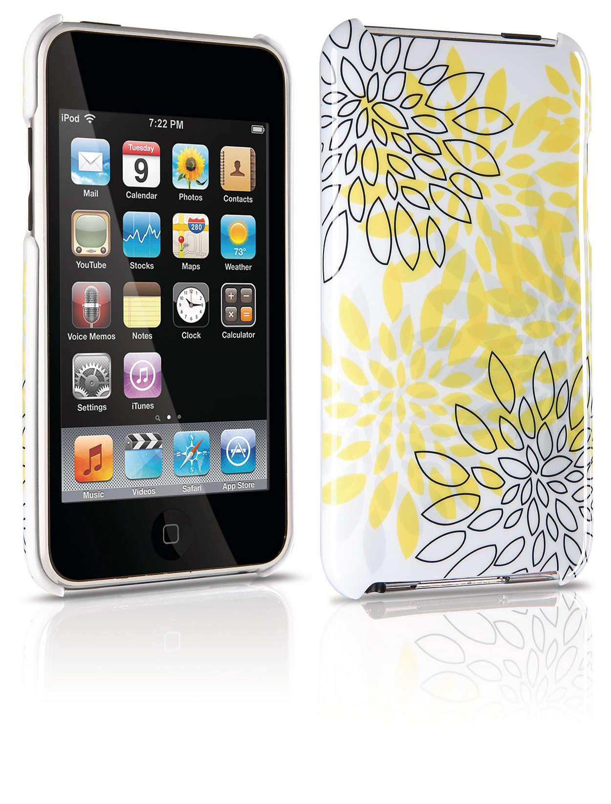 Protege a tu iPod con una funda rígida